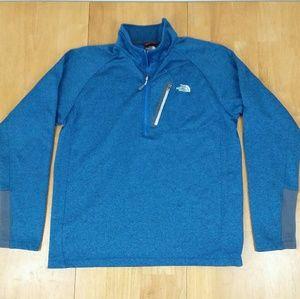 Northface half zip performance jacket